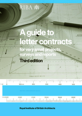 A Guide to Letter Contracts For very small projects, surveys, and reports book cover