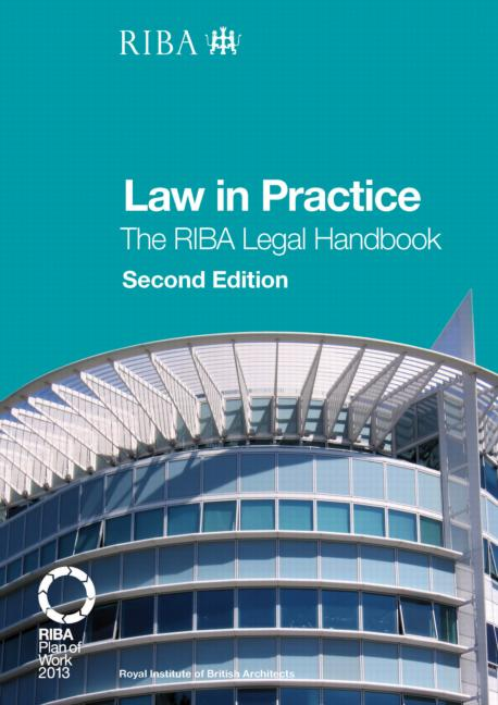 Law in Practice The RIBA Legal Handbook book cover