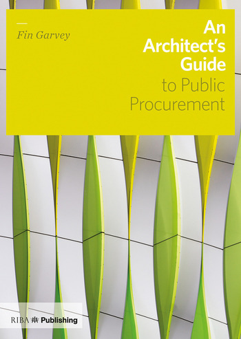 An Architect's Guide to Public Procurement book cover