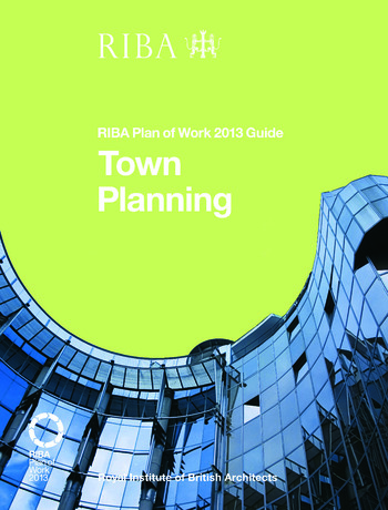 Town Planning RIBA Plan of Work 2013 Guide book cover