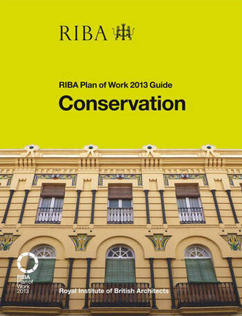 Conservation RIBA Plan of Work 2013 Guide book cover