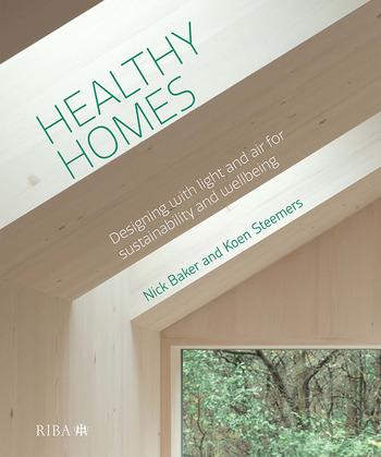 Healthy Homes Designing with light and air for sustainability and wellbeing book cover
