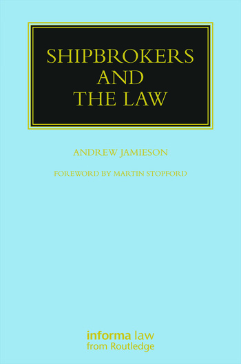 Shipbrokers and the Law book cover