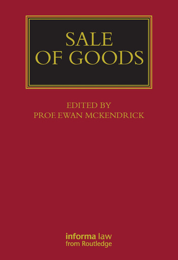 Sale of Goods book cover