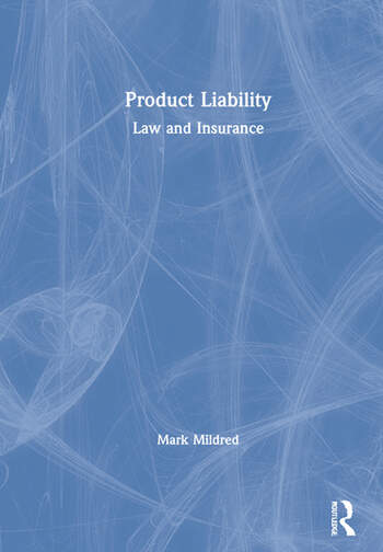 Product Liability Law and Insurance book cover