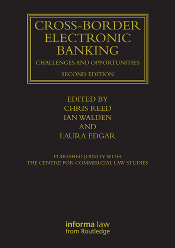 Cross-border Electronic Banking Challenges and Opportunities book cover
