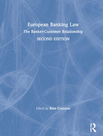 European Banking Law The Banker-Customer Relationship book cover