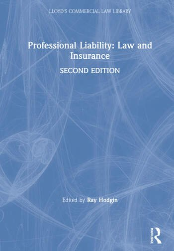 Professional Liability: Law and Insurance book cover