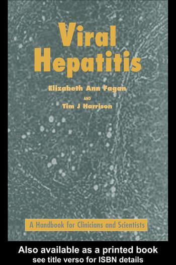 Viral Hepatitis book cover