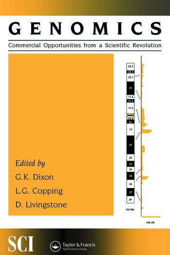 Genomics: commercial opportunities from a scientific revolution book cover