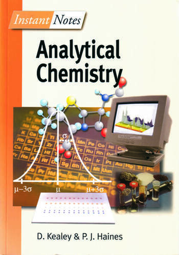 BIOS Instant Notes in Analytical Chemistry book cover