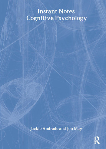 BIOS Instant Notes in Cognitive Psychology book cover