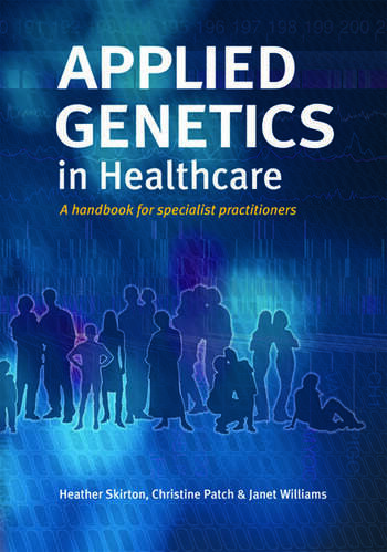 Applied Genetics in Healthcare book cover