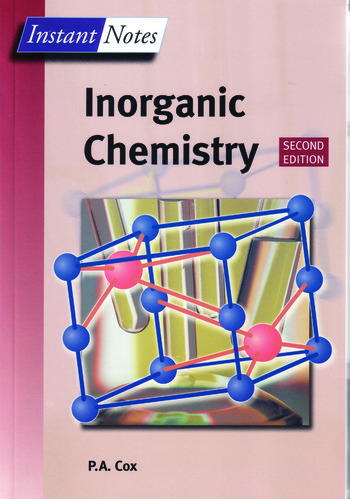inorganic chemistry notes ch2 Summary notes and past exam questions by topic for cie chemistry international as and a-level inorganic chemistry.