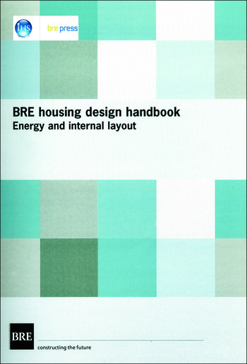 BRE Housing Design Handbook Energy and Internal Layout (BR 253) book cover