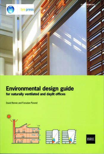 Environmental Design Guide for Naturally Ventilated and Daylit Offices (BR 345) book cover