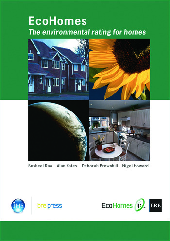 EcoHomes The Environmental Rating for Homes (BR 389) book cover