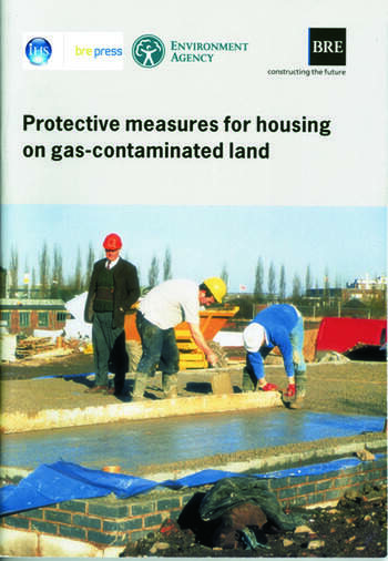 Protective Measures for Housing on Gas-contaminated Land (BR 414) book cover