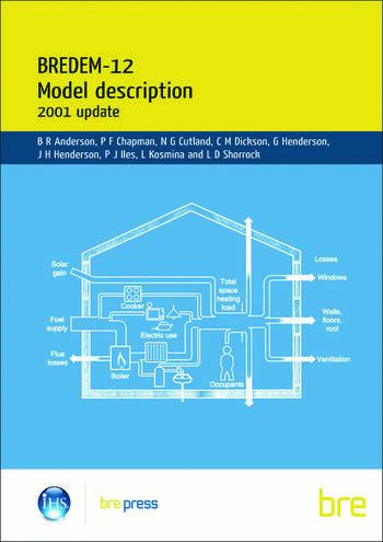 BREDEM-12 Model Description: 2001 update (BR 438) book cover