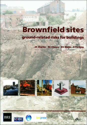 Brownfield Sites Ground-related Risks for Buildings (BR 447) book cover