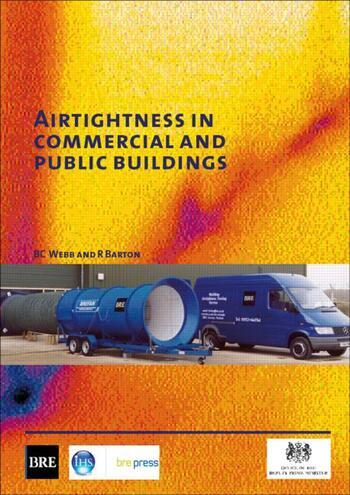 Airtightness in Commercial and Public Buildings (BR 448) book cover