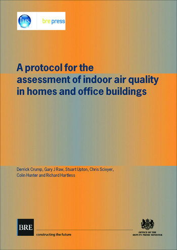 A Protocol for the Assessment of Indoor Air Quality in Homes and Office Buildings (BR 450) book cover