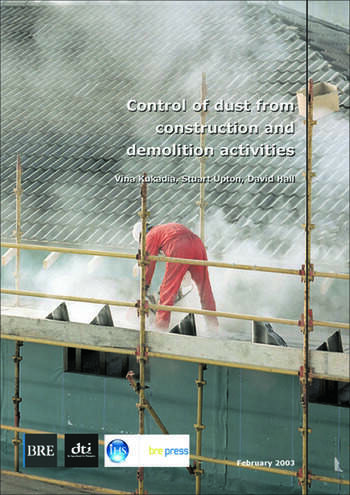 Control of Dust From Construction and Demolition Activities (BR 456) book cover
