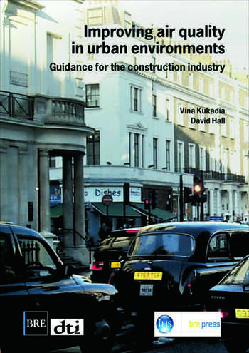 Improving Air Quality in Urban Environments Guidance for the Construction Industry (BR 474) book cover