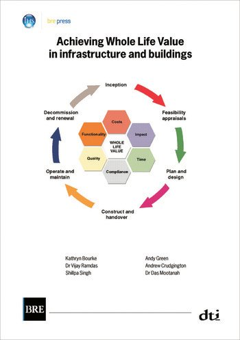 Achieving Whole Life Value in Infrastructure and Buildings (BR 476) book cover