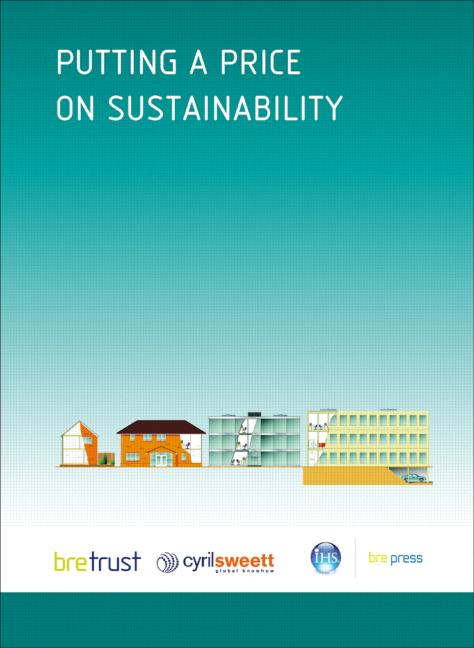 Putting a Price on Sustainability (FB 10) book cover