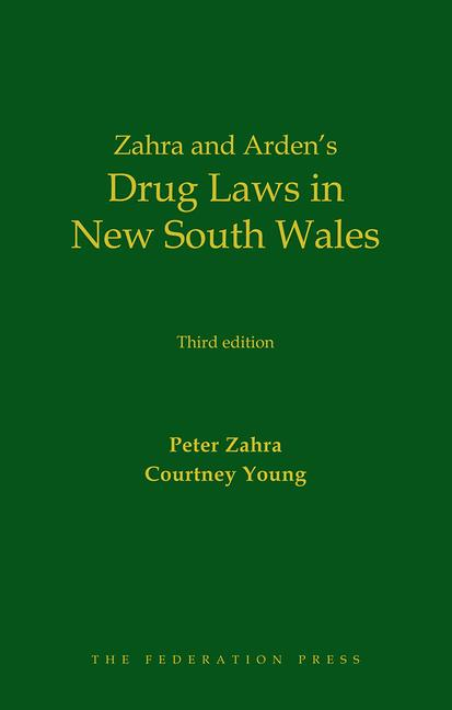 Drug Laws in New South Wales book cover