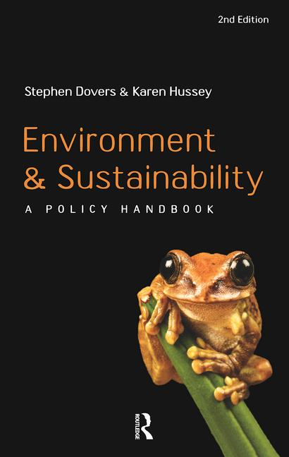 Environment and Sustainability A Policy Handbook book cover