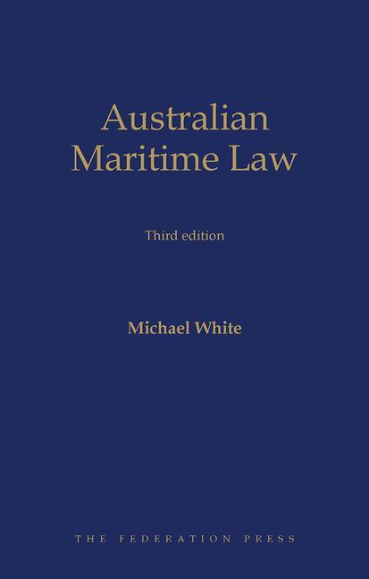 Australian Maritime Law book cover