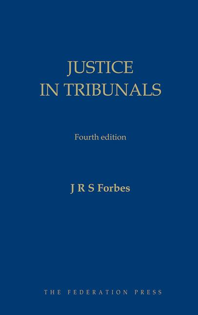 Justice in Tribunals book cover