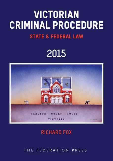 Victorian Criminal Procedure State and Federal Law book cover