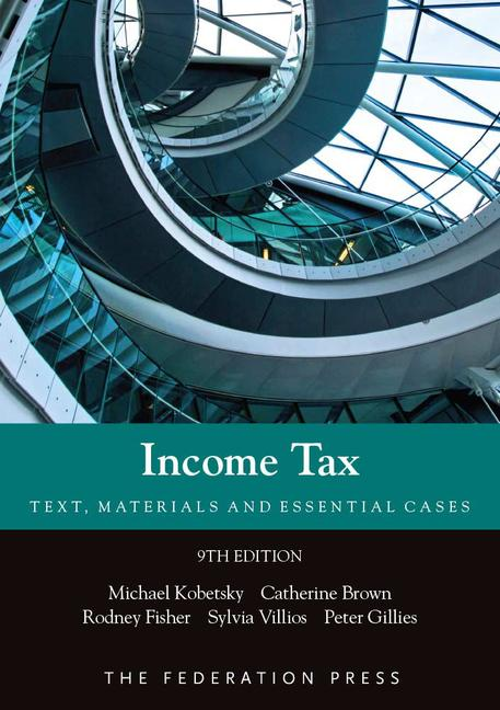 Income Tax Text, Materials and Essential Cases book cover