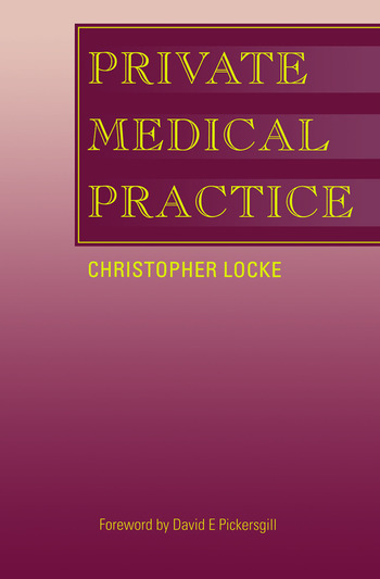 Private Medical Practice book cover