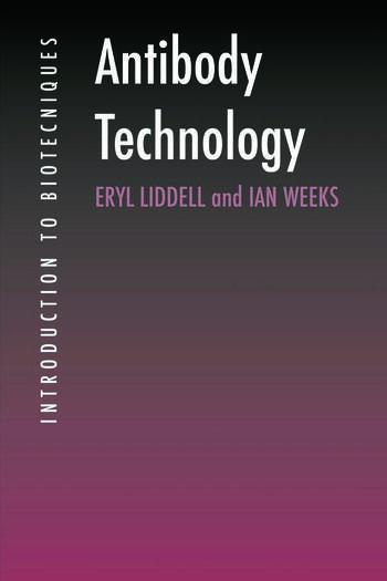 Antibody Technology book cover