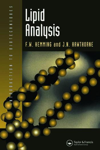 Lipid Analysis book cover
