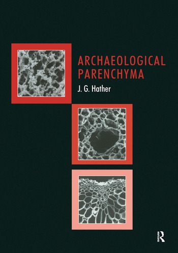 Archaeological Parenchyma book cover