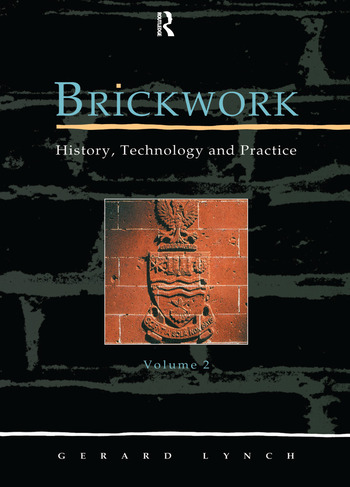 Brickwork: History, Technology and Practice: v.2 book cover