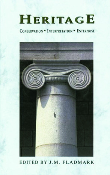 Heritage Conservation, Interpretation and Enterprise book cover