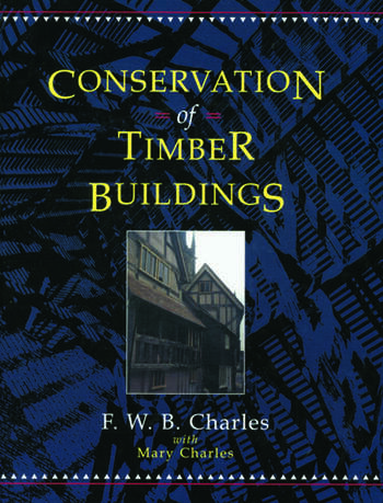 Conservation of Timber Buildings book cover