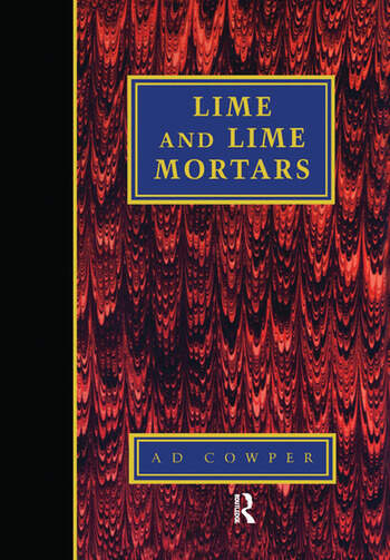 Lime and Lime Mortars book cover