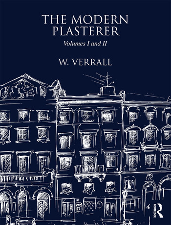 The Modern Plasterer Volumes I and II book cover