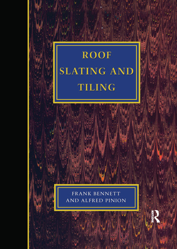 Roof Slating and Tiling book cover