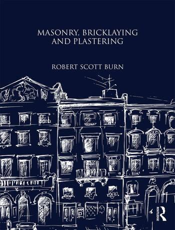 Masonry, Bricklaying and Plastering book cover