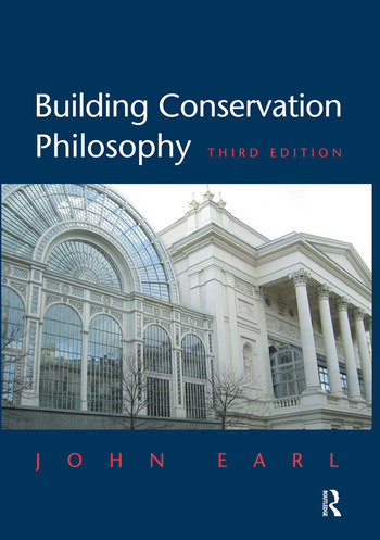 Building Conservation Philosophy book cover