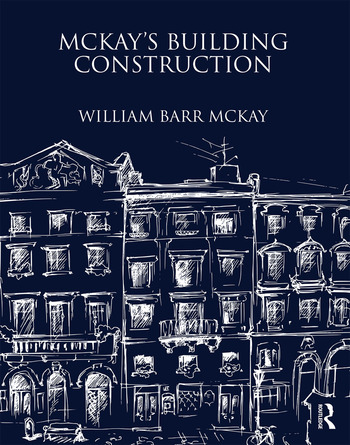 McKay's Building Construction book cover