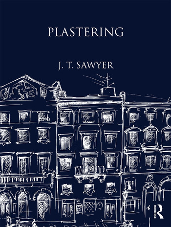 Plastering book cover